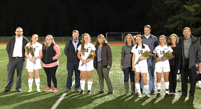 Free Kick Game Winner On Sr Night For Girls Soccer
