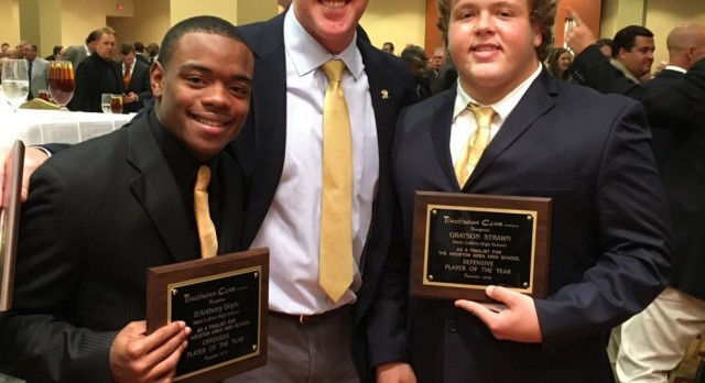 Strawn & Doyle Honored at Touchdown Club Player of the Year Finalists