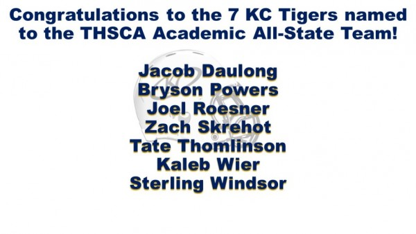 Academic all state 2016