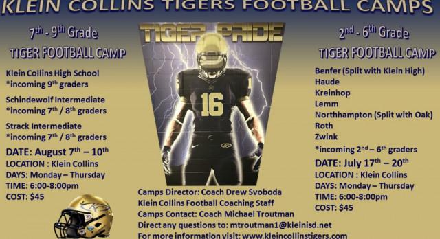 Future KC Tiger Football Camps