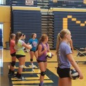 Volleyball – 1st Practice