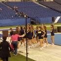 Cheerleaders at Indiana Cheer Championships