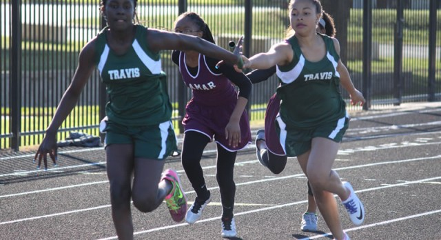 Travis girls claim 1st and 3rd at Lamar Invitational
