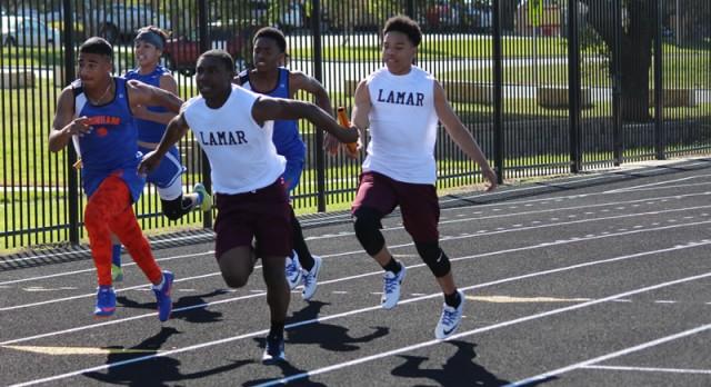 Lamar 8th grade boys take second at district meet