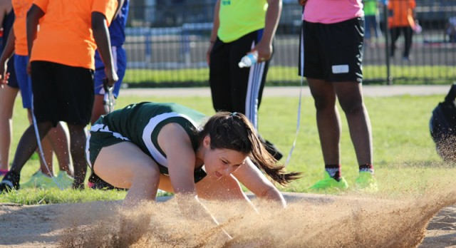 Travis girls track results from the district meet