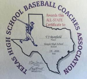 Rumfield award