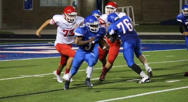 JV Football drops a pair of games to Belton