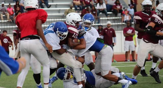 Wait is over: Temple-Belton rivalry game is here