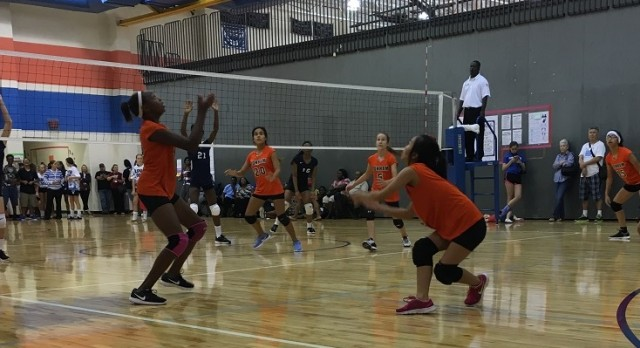 Bonham Volleyball round up vs. Cove Lee