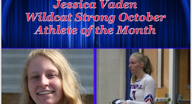 Jessica Vaden voted Wildcat Strong Athlete of the Month