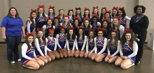 Temple Cheer UIL Spirit State Championship Picture 2017