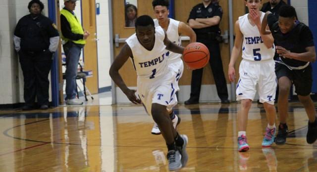JV boys basketball defeats University 53-48