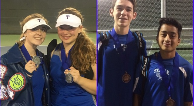 Temple Tennis results at the Copperas Cove Bulldawg Classic