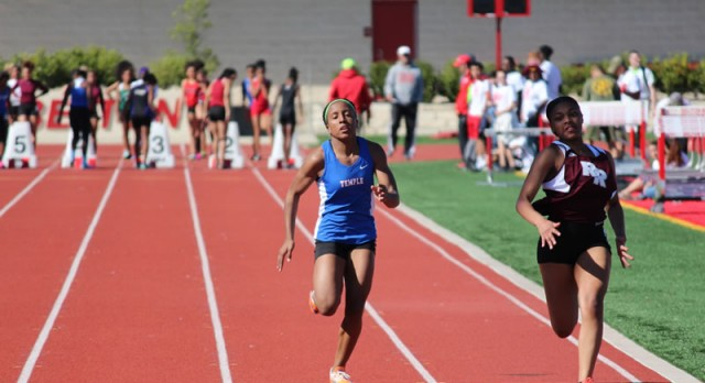 JV Girls Track results from Big Red Relays