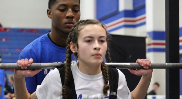 Temple girls take 3rd at Temple Invitational Powerlifting Meet