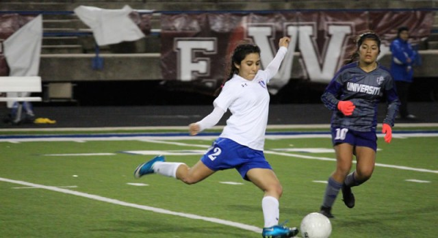 Lady Wildcats tie University 2-2