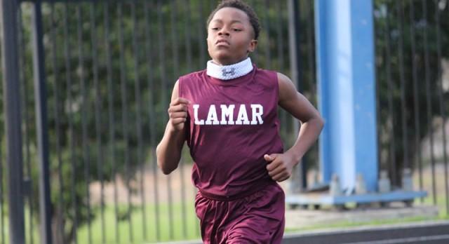 Lamar boys track & field results at the Bonham Invitational