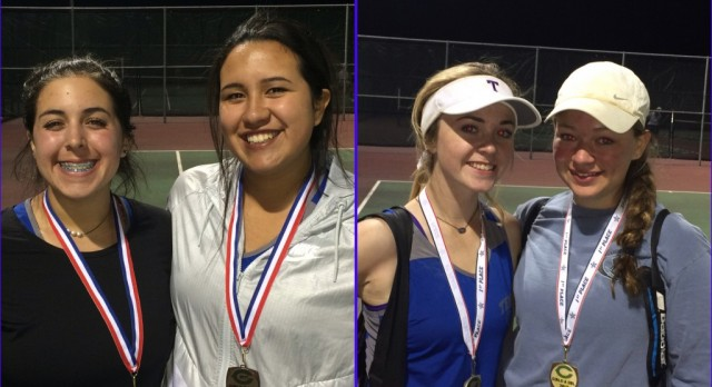 Montgomery/Voss claim doubles title at Connally Tournament