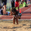 Travis Girls Track & Field at the District Meet