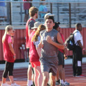 Lamar Boys Track & Field at the District Meet