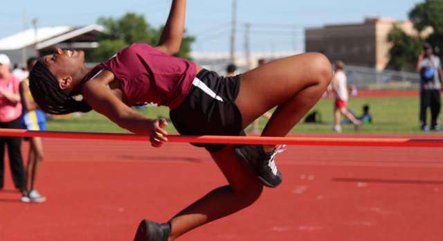 Lamar girls track & field results from the District Meet