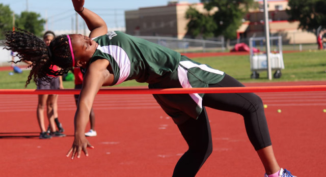 Travis girls track & field results from the district meet