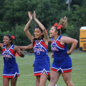 THS Cheerleaders – Blue/White Game