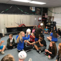 Tem-Cat Volleyball – Scott Elementary Career Day