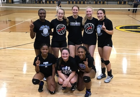Volleyball team takes first at Gatesville