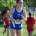 Junior Varsity Girls Cross Country at the Temple Invitational