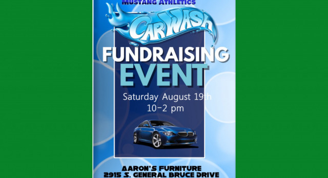 Travis Mustang boys host car wash and bake sale on Saturday, Aug. 19