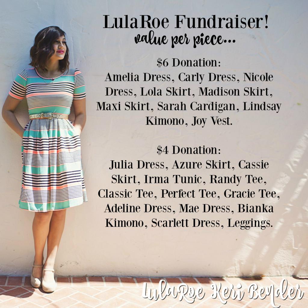 LulaRoe Temple Cheer fundraiser profit breakdown (1)