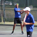 Temple Boys Tennis vs. Pflugerville Connally