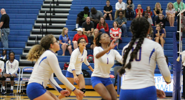 JV Volleyball defeats CTCS