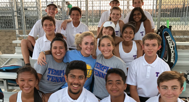 Temple tennis gets road win at Rudder
