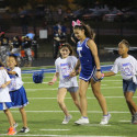 Lil Wildcat Cheer Game Performance