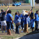 Area Round Send Off Pep Rally