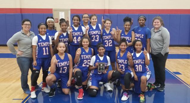 Freshman girls take 1st Place at Midway
