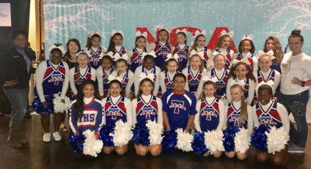 Temple Cheer earns top recognition at NCA State Championships