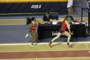 Ann Mosely and Kristie 4x4 handoff