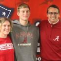 Wyatt Harrison Swim Signing – The University of Alabama