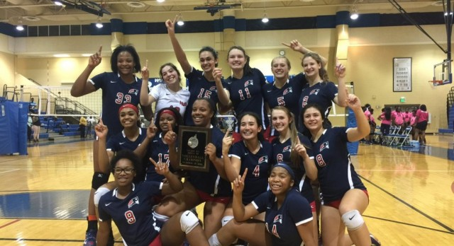 Homewood Volleyball Wins Area Title