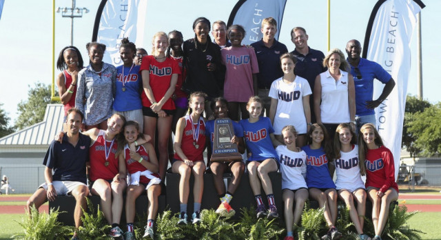Girls Track & Field Win 4th Straight, Boys State Runners-Up