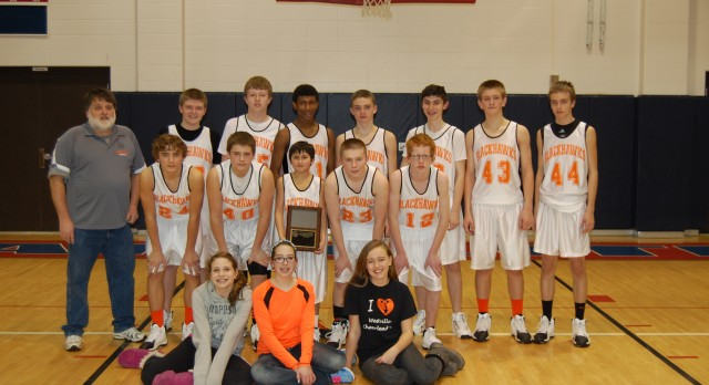 Middle School Boys Take the PCC Basketball Championship