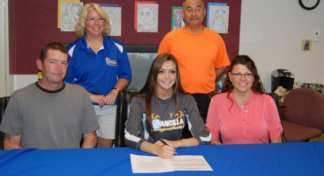 ANCILLA COLLEGE SIGNS TWO BLACKHAWKS