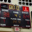 Pics of Boys JV Basketball vs. Oregon Davis 2/4/16