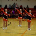 Pics of Middle School Cheer 2/2/16