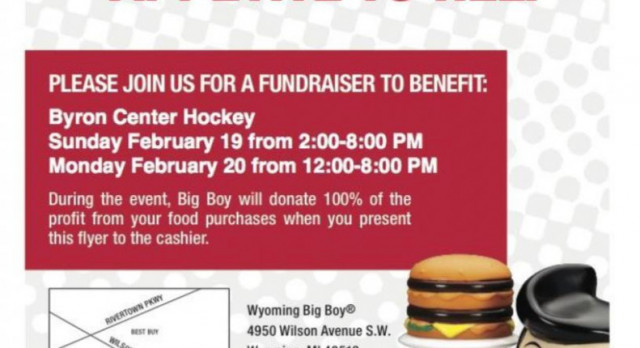 Hockey Fundraiser 2/19 and 2/20