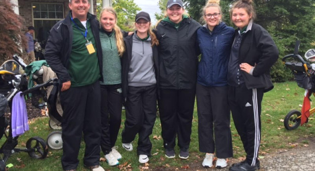 WU Girls Golf Team Qualifies for MHSAA State Finals