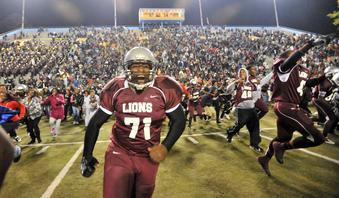 One of The Greatest Nights in The History of Georgia High School Football, Fall 2012. MLK 50 SHS 49